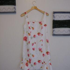 Rickie Freeman for Teri Jon floral sun dress